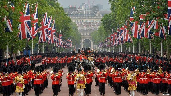 Trooping the Colour ceremónia